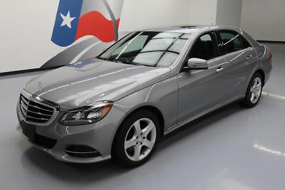 2014 Mercedes-Benz E-Class 4Matic Sedan 4-Door 2014 MERCEDES-BENZ E350 SPORT 4MATIC AWD P1 NAV 36K MI #949441 Texas Direct Auto