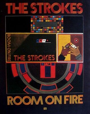 THE STROKES 2003 Advert ROOM ON FIRE