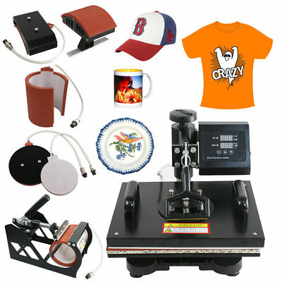 "ZENY Professional 12"" x 15"" Multifunction Sublimation Combo Heat Press Machine"