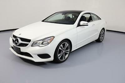 2014 Mercedes-Benz E-Class 4Matic Coupe 2-Door 2014 MERCEDES-BENZ E350 COUPE AWD P1 PANO ROOF NAV 49K #260012 Texas Direct Auto