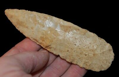 Early Archaic Or Paleo Blade St Louis Mo Indian Arrowhead Artifact Collectible*