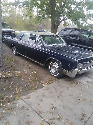 1966 Lincoln Continental  1966 lincoln contiential