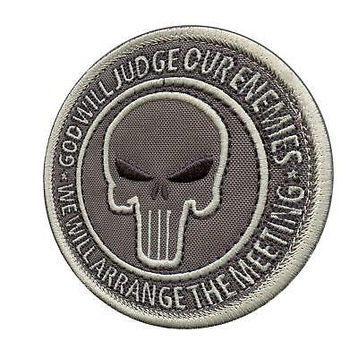 god will judge our enemies ACU ECWCS morale navy seals emblema fastener patch