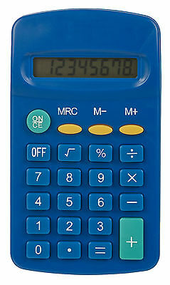 Texet POK-8  pocket calculator Blue