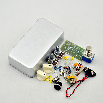 DIY Fuzz Face effects pedal kit-Guitar FUZZ pedals kits with 1590B FREE SHIPPING