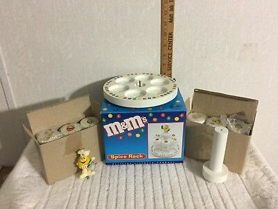 M & M  Collectible Spice Rack  ..  In Original Box   -   (mm02)