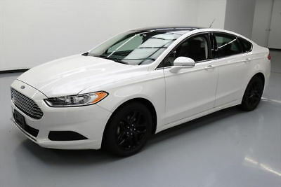 2015 Ford Fusion SE Sedan 4-Door 2015 FORD FUSION SE BLUETOOTH REAR CAM ALLOYS 36K MILES #108643 Texas Direct