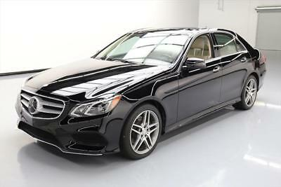 2016 Mercedes-Benz E-Class Base Sedan 4-Door 2016 MERCEDES-BENZ E400 SPORT DRIVER ASSIST NAV 37K MI #177443 Texas Direct Auto