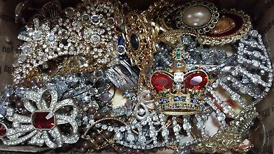 Vintage To Now Jewelry Lot Unsearched Untested Wear/resale/craft #5