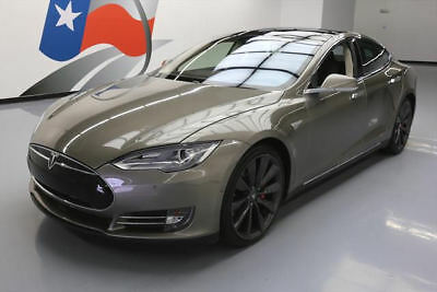 2015 Tesla Model S  2015 TESLA MODEL S P85D AWD 7PASS AUTOPILOT PANO 16K MI #091825 Texas Direct