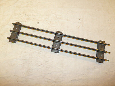 Lot of 34 Pieces Tinned Standard Gauge Track Pre-War Lionel?? INV12539