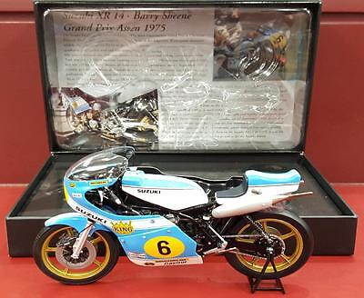 1:12 Minichamps - Suzuki Xr14 - Barry Sheene First 500Gp Win - 1975 Assen Tt