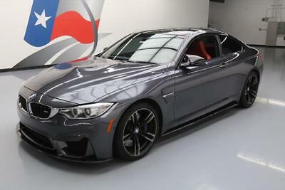 2016 BMW M4  2016 BMW M4 M-DCT EXECUTIVE DRIVER ASSIST RED SEATS 25K #335875 Texas Direct