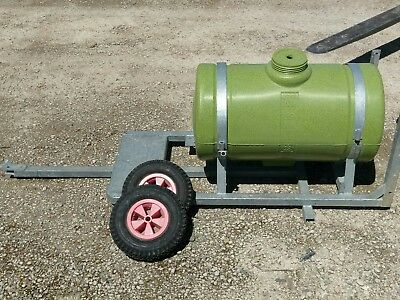 200L spray water cartage trailer, unfinished. No reserve!