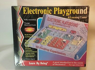 Elenco Electronic Playground 50-in-One, Fun Educational Kids Game, New Mod EP_50