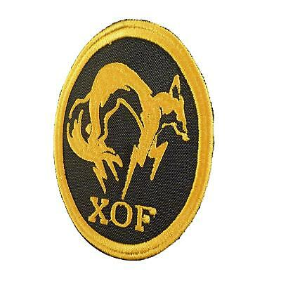 metal gear solid XOF skull face PS3 PS4 bordado parche sew iron on patch
