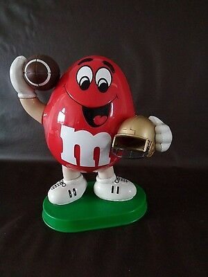 M&M Red Football Dispenser Made in Thailand (Cat.#4A003)
