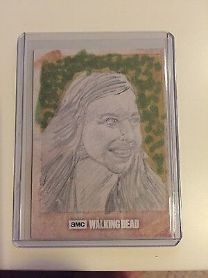 the walking dead cards