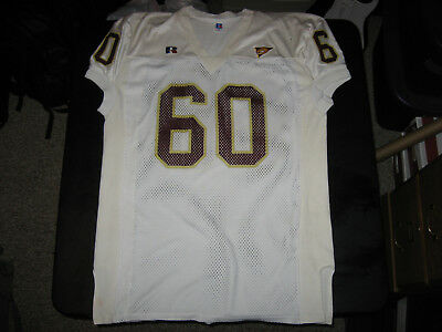 Central Michigan University Game Worn / Used Jersey #60 Russell MAC Patch SZ 54