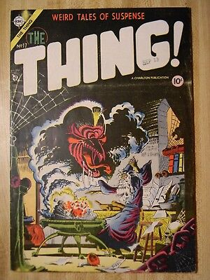 The Thing #17 (Fn-) (5.5) 1954, Steve Ditko Cover! Dick Ayers, Kirk Art!