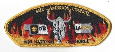 1997 National Scout Jamboree JSP Mid-America Council Yellow Bdr.  [MK2256]