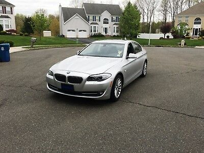 2013 BMW 5-Series Base Sedan 4-Door 535XI 47K Miles One Owner Clean Carfax 3 Months Warranty