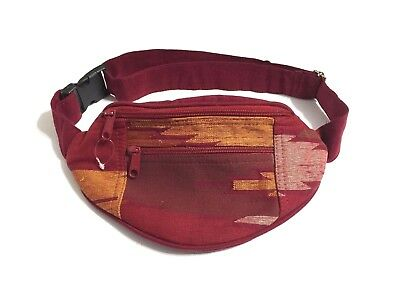 Waist Money Pouch Travel Belt Cotton Nepalese Design Adjustable Bum Bag