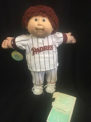 Cabbage Patch Kid With Certificate