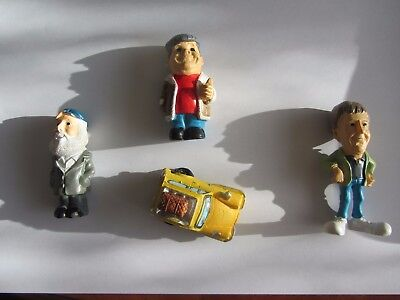 Only Fools and Horses---mini figures and the Trotters Van