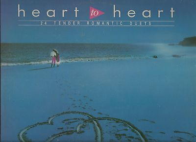 Various Artists - Heart To Heart - dbl LP -  K-Tel  - 1986  - 24 duets