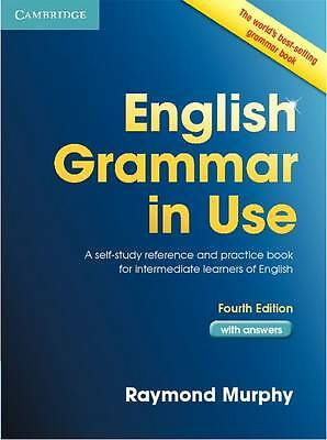 Cambridge ENGLISH GRAMMAR IN USE with Answers 4th Raymond Murphy Book