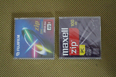 2 Brand new/Sealed ZIP 100 Disks