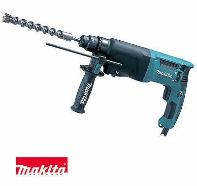 Makita HR2630x7 800w 26mm 240V 3 Function SDS Rotary Hammer Demolition Drill