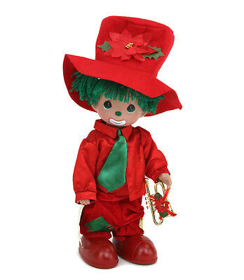 """Precious Moments Disney Parks Exclusive Christmas Blessing Clown Hobo 12"""" Doll"""
