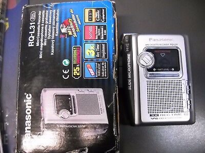 Walkman Recorder Panasonic Rq-L31