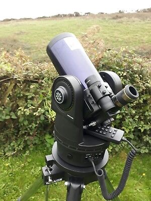 Meade ETX90 Observer telescope and tripod with AudioStar handbox (UK)
