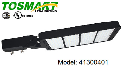 LED Parking Lot Shoebox Light with Slip Fitter Mount Bracket 300 Security Area
