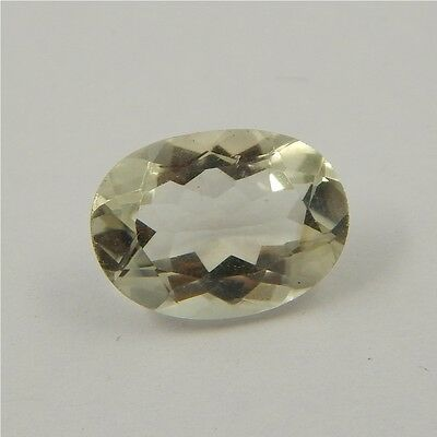 5.6 cts Natural Green Amethyst Gemstone Must See Loose Cut Faceted P#227-27