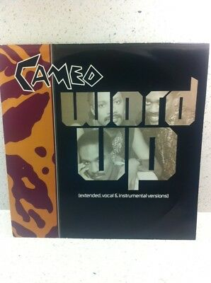 """Cameo Word Up 12"""" 4 Track Vinyl pick 3 x12"""" singles for£4.40p postage"""