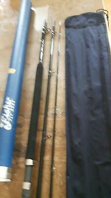 """Fisher blue water fly rod 8ft6"""" 15wt"""