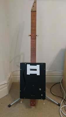 Cigar Box Type Guitar Unfinished Project