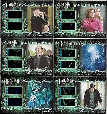 Harry Potter and the Order of the Phoenix Filmcell Cell Filmcard CFC5 #186/260