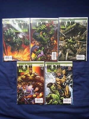 World War Hulk (2007) - Issues 1-5 - COMPLETE COLLECTION
