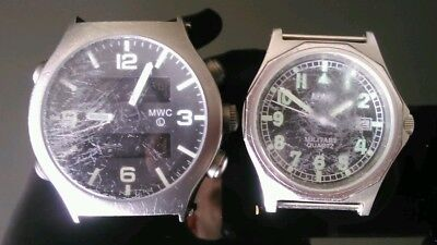 2 Mwc  Military Watches For Spares Or Repair