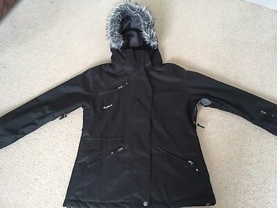 Black Surfanic Ski Jacket Size M