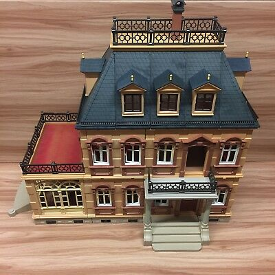 Playmobil Victorian Mansion House 5300 Incomplete, Vintage Collectible