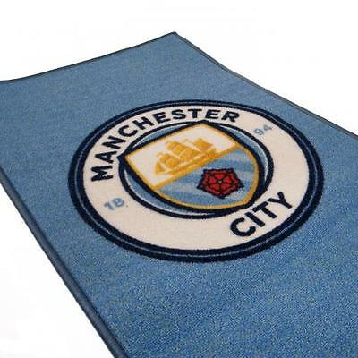 Manchester City FC Bedroom Rug Official MCFC Accessories