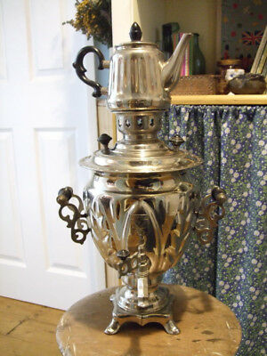 Vintage Russian Electric Tea Samovar  made in 1988.