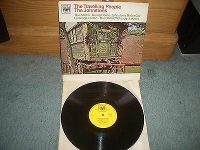 The Johnstons The Travelling People Marble Arch Mono Lp