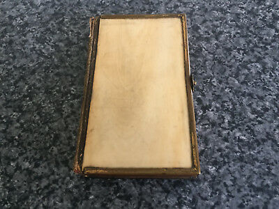 Vintage Miniature Book of Common Prayer with Ornate Cover Metal Clasp 9.5 x 6cm
